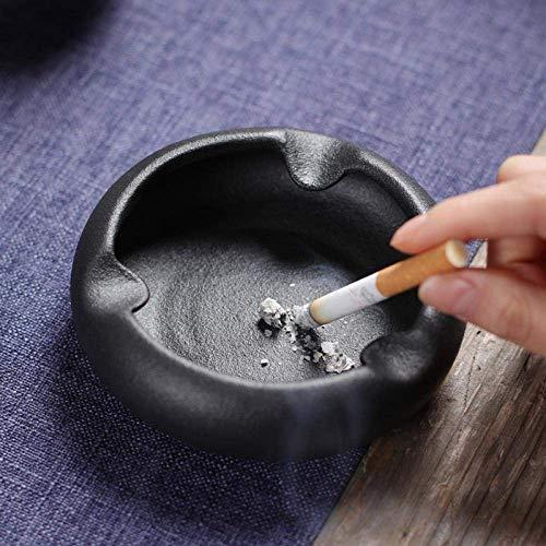MLOZS Posacenere per posacenere da Interno con Coperchio Sala Soggiorno tavolino da caffè Moderno personalità Minimalista casa posacenere in Ceramica