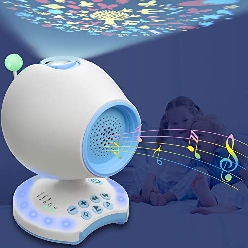 White Noise Sound Machine for Sleeping & Relaxing, Portable Sleep Therapy for Baby Kid Adults, 20 Soothing Sounds with Volume...