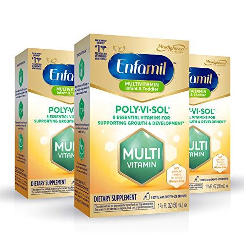 Enfamil Poly-Vi-Sol Liquid Multivitamin Supplement for Infants and...