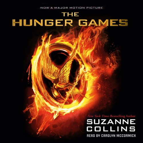 The Hunger Games audiobook cover art