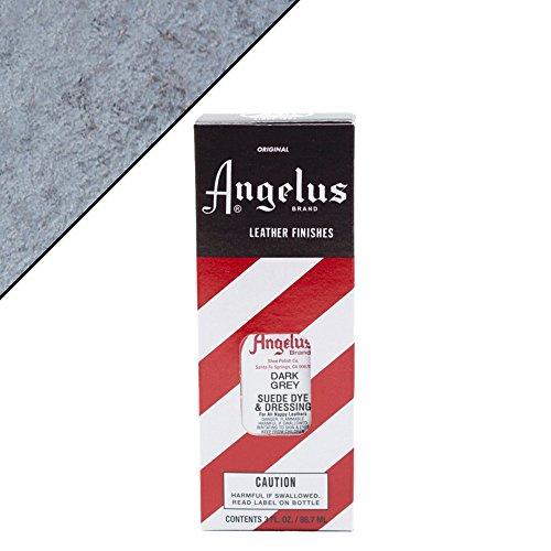 Angelus Suede Dye Dark Grey
