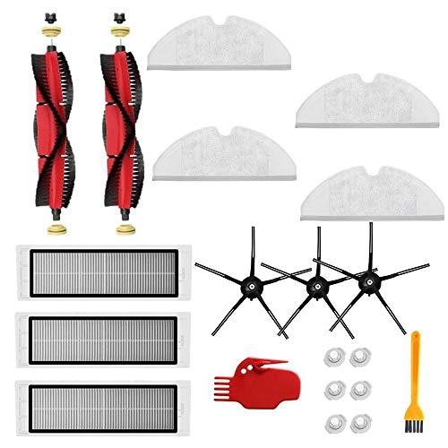 Nrpfell para S5 MAX S6 S65 S60 Accesorios Piezas de Aspiradora Filtro HEPA Lavable Cepillo Principal Cepillo Lateral