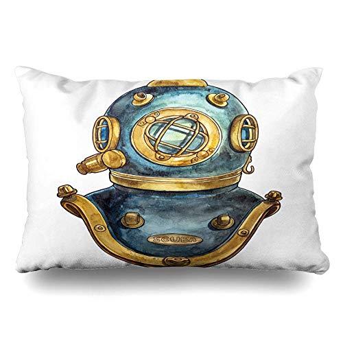 gong Funda de Almohada estándar Casco de Buceo Antiguo Mari