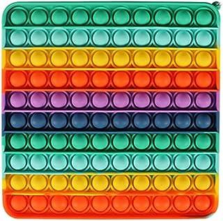 CRAZYCHIC - Pop It Grand Géant XXL - Popit Push Bubble Fidget Toys - Jouet Jeux Enfant Pas Cher - Poppit Anti Stress Multi...