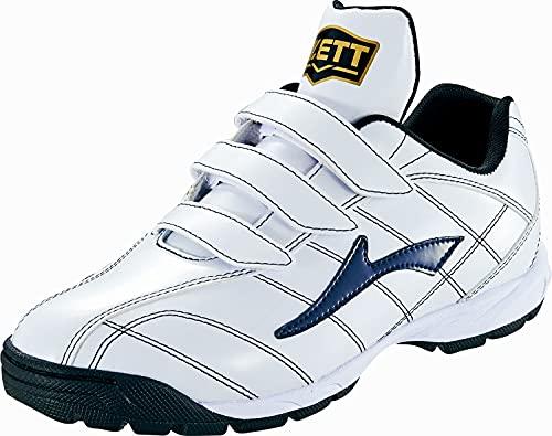 ZETT(ゼット) 野球 トレーニングシューズ ラフィエット ホワイト×ネイビー(1129) 27.0 BSR8017C