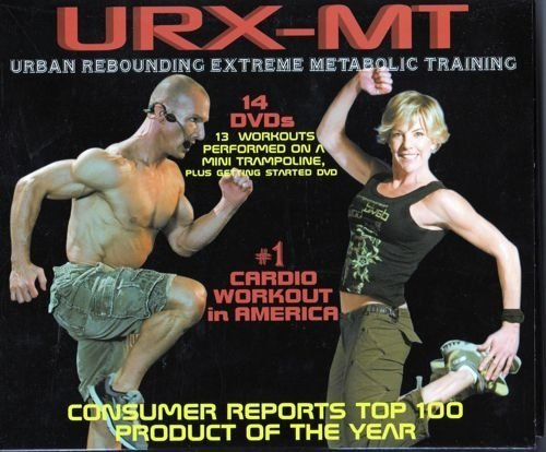 Urban Rebounder URX-MT Intense Full Body Metabolic Workout Series (14 DVD Set)