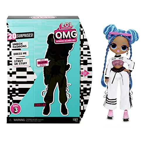 L.O.L. Surprise OMG Core Doll- AA- Chillax