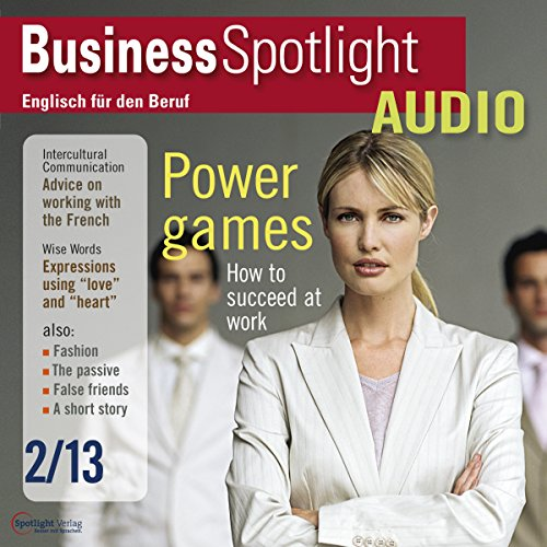 Business Spotlight Audio - 3 Power games. 2/2013 Titelbild