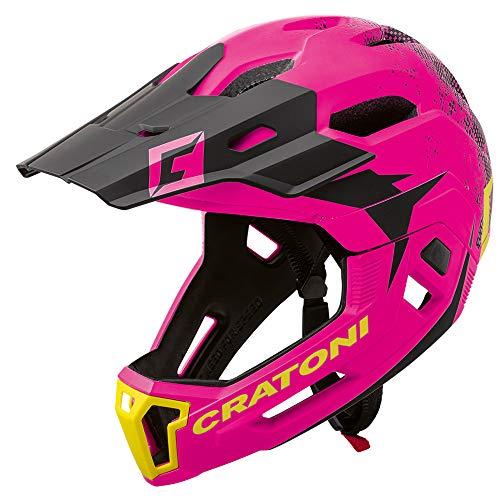Cratoni C-Maniac 2.0 MX Downhill Freeride - Casco de bicicleta (mentón desmontable,...