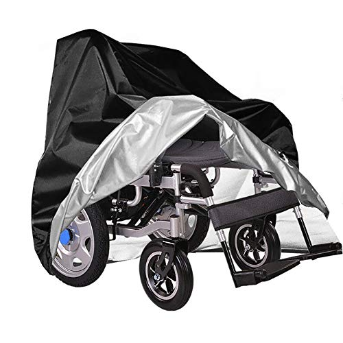 Dust Cover For Elektrische Rolstoelen, Bromfiets Cover For Ouderen, Vier Wielen Scooter Trolley, Stofkap, Sun Protection And Rain Cover (Size : 118 * 73 * 120cm)
