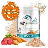 Ida Plus – Barf Basic 700 g – Complemento óptimo para perros – aditivo de barba de alta calidad – rico en minerales, oligoelementos y vitaminas B – para huesos y dientes fuertes