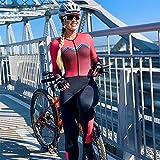 Jumpsuit Cycling Monkey Bike Jersey Conjuntos Pantalones largos...