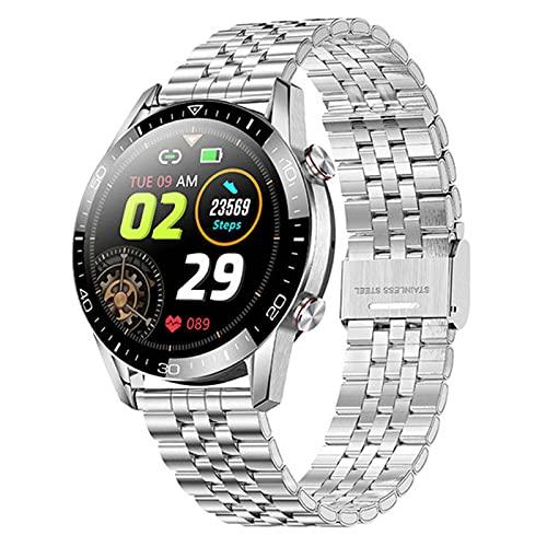 LSQ 2021 Pantalla Táctil Completa Smart Watch Llamada Bluetooth Smartwatch Hombres Mujeres Impermeable Deporte Aptitud Pulsera,B