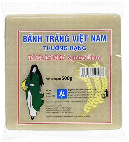 HS Vietnamesische Reispapier Quadratisch 500g (1 x 500 g)