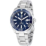 TAG HEUER MEN'S AQUARACER 43MM STEEL BRACELET AUTOMATIC WATCH WAY201B.BA0927