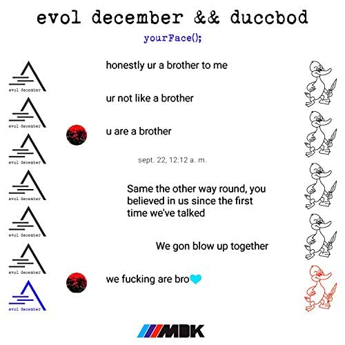 Evol December & Duccbod