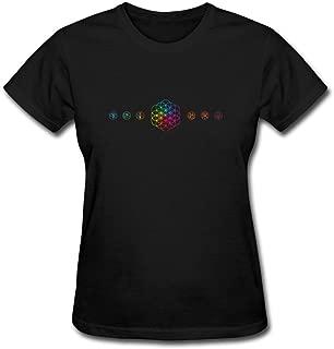Women's Coldplay Design Cotton T Shirt