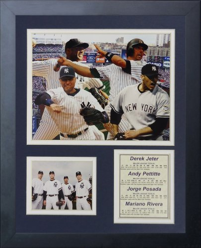 Bucky Dent New York Yankees MLB Framed 8x10 Photograph 1978 Game Winning HR Celebration