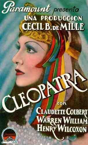 Photo Cleopatra 1934 03 A4 10x8 Poster Print
