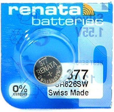 Renata Knopfzelle Uhrbatterie Silberoxid 0 Elektronik
