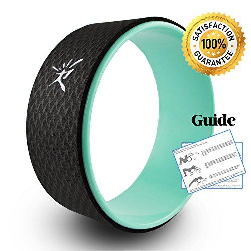Yoga Wheel - Strongest Most Comfortable Dharma Yoga Prop Wheel for...