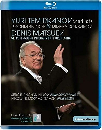 Yuri Temirkanov conducts Rachmaninov & Rimsky-Korakov (Live vom Annecy Classic Festival 2013) [Blu-ray]