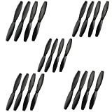 Fytoo 20Pcs Hélices(Apertura:0.8mm) para Parrot Minidrone 3 Mambo Swing Speed Shadow...