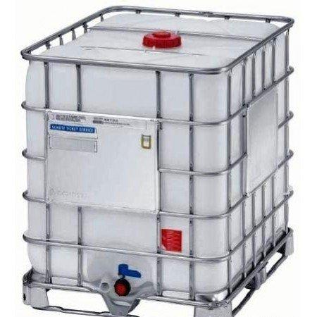 Depósito de 1000 litros. IBC-GRG. Ideal para almacenamiento de agua y otros fluidos.