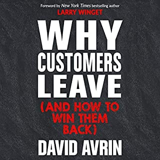 Why Customers Leave (and How to Win Them Back) audiobook cover art