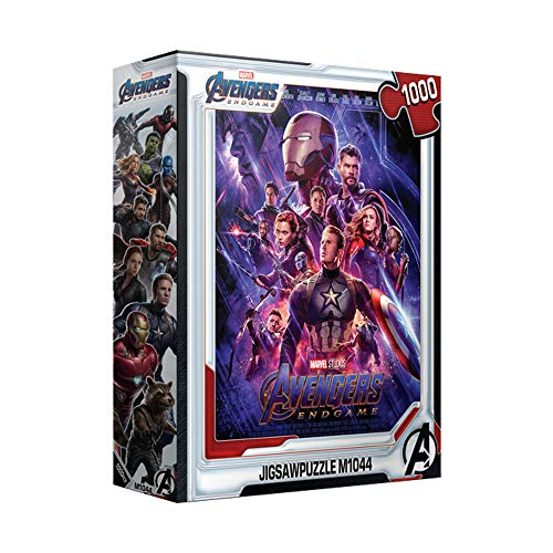1000Piece Jigsaw Puzzle Marvel Avengers Endgame Poster