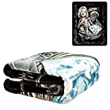 DGA Diamonds are Forever Marilyn Monroe Blanket, Queen, 79' L x 95' H