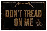 1art1 Metallica - Don't Tread On Me Felpudo Alfombra (60 x 40cm)