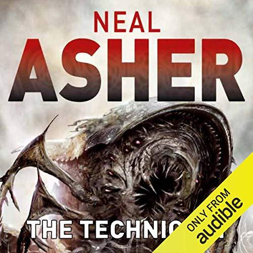 The Technician audiobook cover art