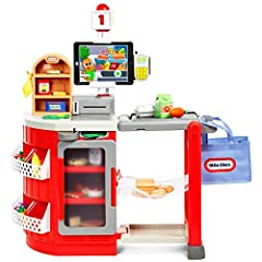 Pretend to shop and checkout with this interactive toy with 5 fun modes:(1) free play, (2) shopping list, (3) checkout counter, (4) speed Scanner, (5) music mode Free downloadable app adds deeper game play so kids have fun while learning (compatible ...