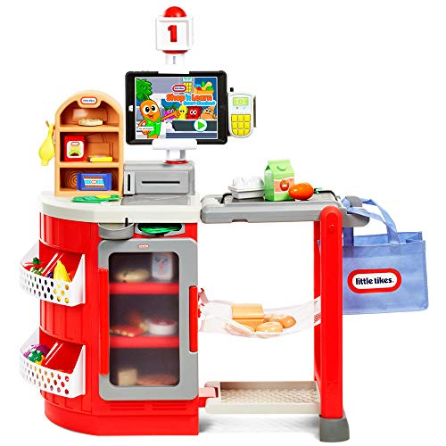 Little Tikes Shop 'N Learn Smart Grocery Store Checkout Pretend Play for Kids