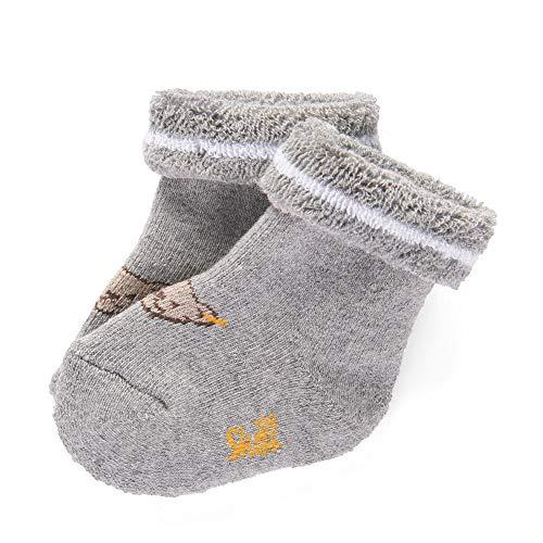 Steiff Baby-Unisex Socken, Grau (Quarry 9007), 18 (Herstellergröße: 018)