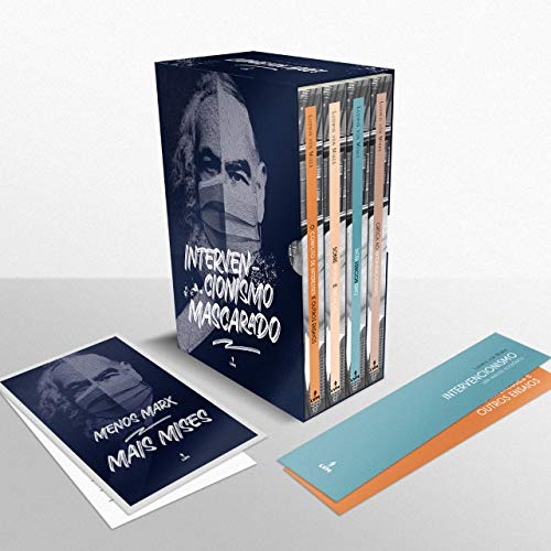 Box Intervencionismo Mascarado - Livros Mises + Brindes