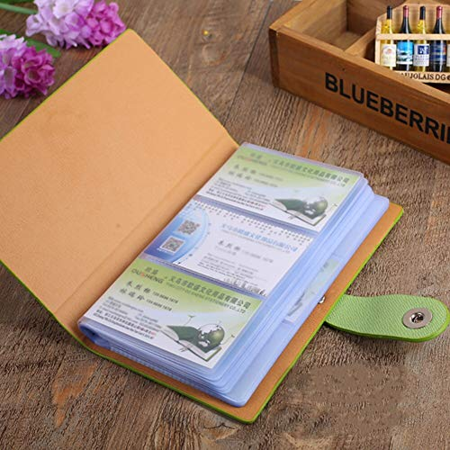 『YANHUA Business Card Books Business Card Holders with Magnetic Closure for Organizing Cards Journal Business Card Organizer Name Card』の5枚目の画像