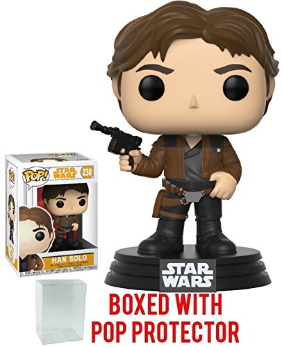 Funko Pop! Star Wars: Solo - Han Solo Vinyl Figure (Bundled with Pop Box Protector Case)