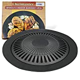Korean BBQ Non-stick Smokeless Grill Indoor Pans Stovetop Grill Plate Barbecue Pan