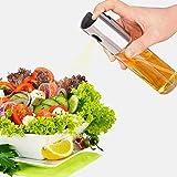 Pulverizador de aceite de oliva para cocinar, botella dispensadora de aceite para cocinar, vinagre, asar, barbacoa, ensalada, barbacoa