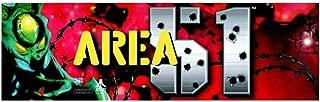 Baga Goodies 26″ x 8″ Area 51 Dedicated Arcade Marquee