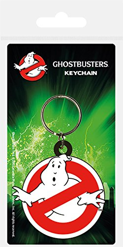 Official Ghostbusters 80s Logo Keyring
