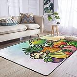 Alfombra Yoshi's Dragon of the Home Decor Collection alfombra para el piso para sala de estar, dormitorio, comedor, 152 x 182 cm