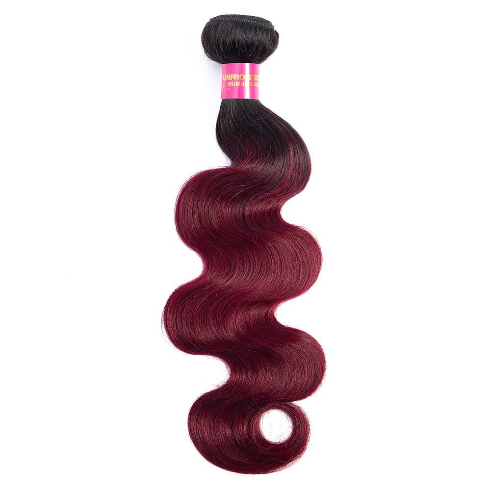 Ranking TOP15 FASHION LADY 1 Bundle Ombre Brazilian 2 Ton Weave Philadelphia Mall Wave Body Hair