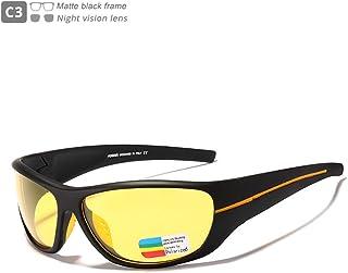 DishyKooker Men Sports Sunglasses Polarizing Sunglasses Outdoor Biking Glasses