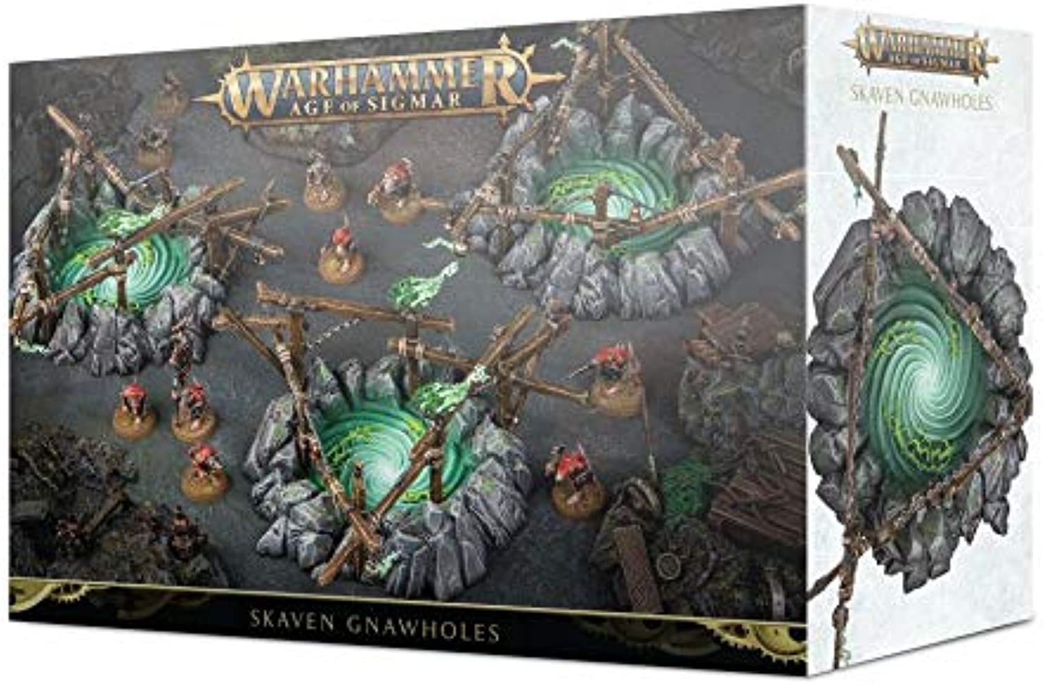 Games Workshop Warhammer Age of Sigmar  Skaven Gnawholes
