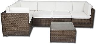 Amazon.es: Sofas Rattan - Muebles y accesorios de jardín: Jardín