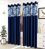 Material: Polyester, Package Contents: 2 Pcs Curtains Size (Width x Length): (4 x 5) feet or (48 x 60) inch or (120 x 150) cm These Luxurious Curtain have Digitally Printed Patch with High Definition Quality, in Vibrant Designing with Rich and Sharp ...