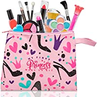 Deal on My First Princess Make Up Kit - 12 Pc Kids Makeup Set - Washable Pretend Makeup For Girls - These Makeup Toys...